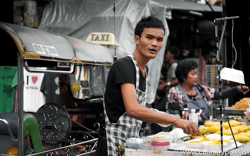Sticky Rice with Mango Khao San Road Bangkok