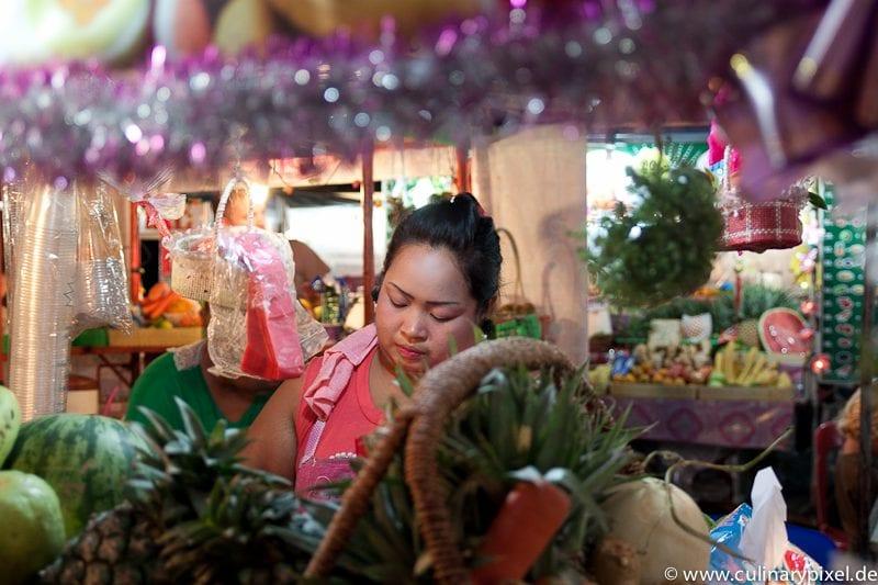 Fruit Shakes Thong Sala Night Market, Koh Phangan, Thailand