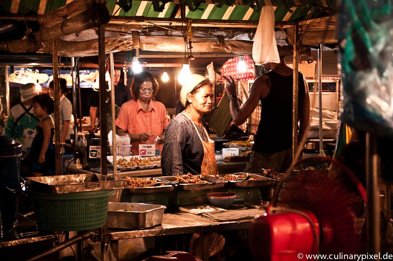 Marktfrau Thong Sala Night Market, Koh Phangan, Thailand