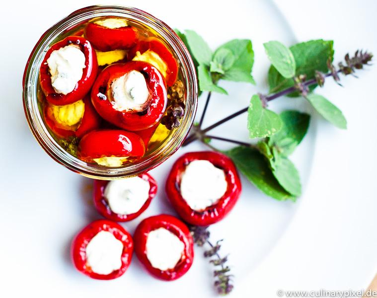 Pepper Balls mit Frischkäse