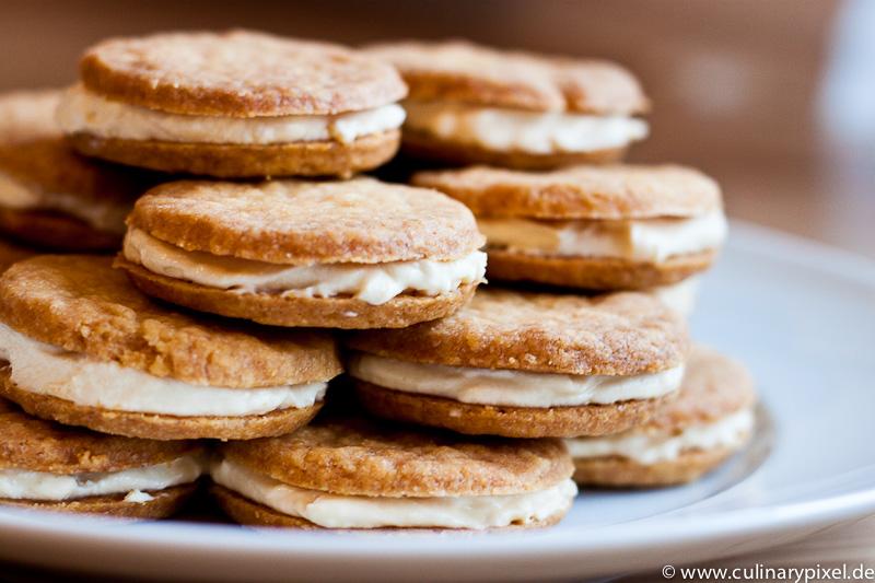 Cookies mit Caramel-Füllung