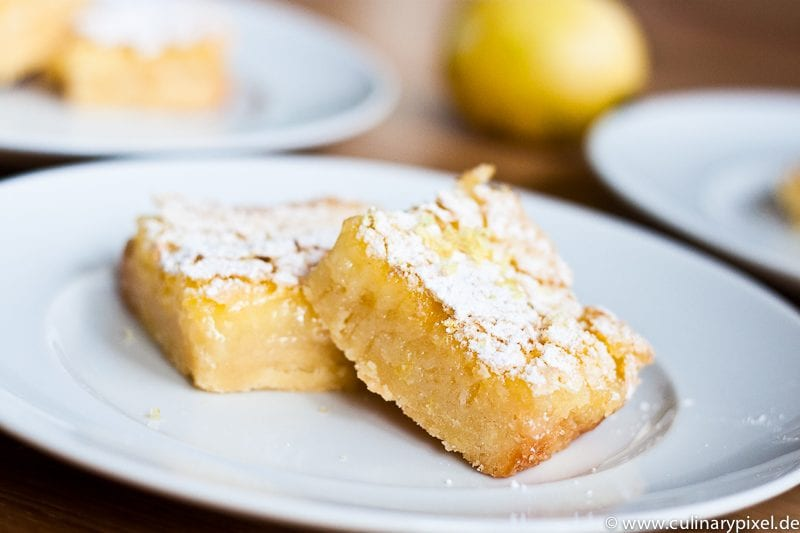 Lemon Squares - Zitronig lecker