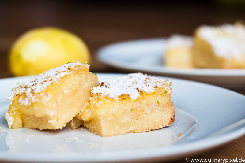lemon bars rezept f r super saftige zitronen brownies. Black Bedroom Furniture Sets. Home Design Ideas