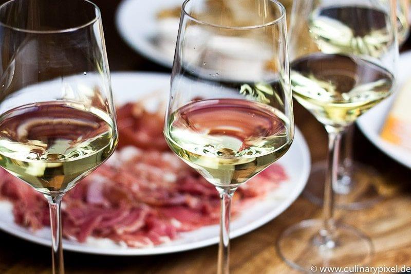 Prosciutto di San Daniele & Weißwein aus dem Friaul
