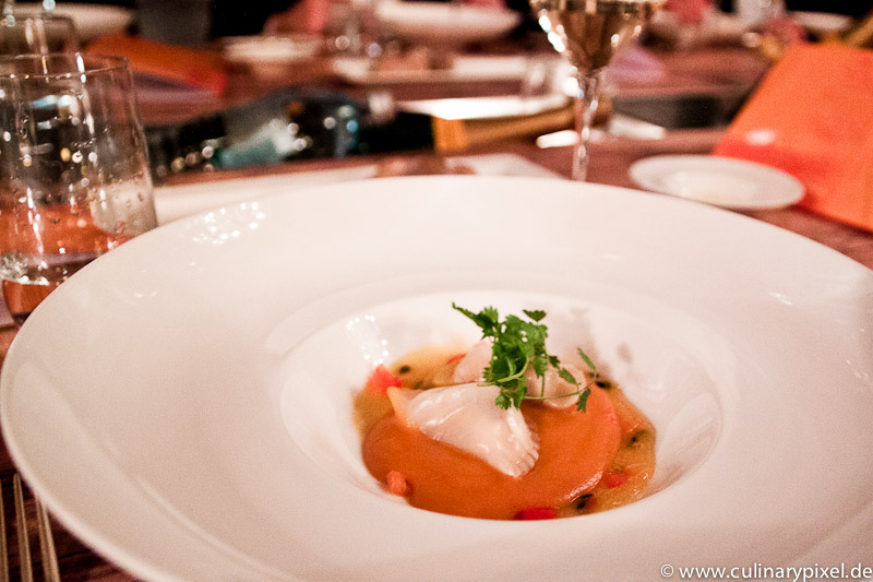 Veuve Clicquot Vintage Dinner: Hummertascherl