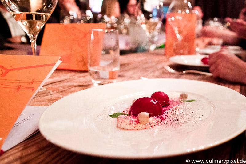 Veuve Clicquot Demi Sec Carafé zum Dessert