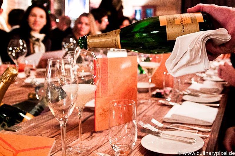 Vintage 2004 beim Veuve Clicquot Dinner