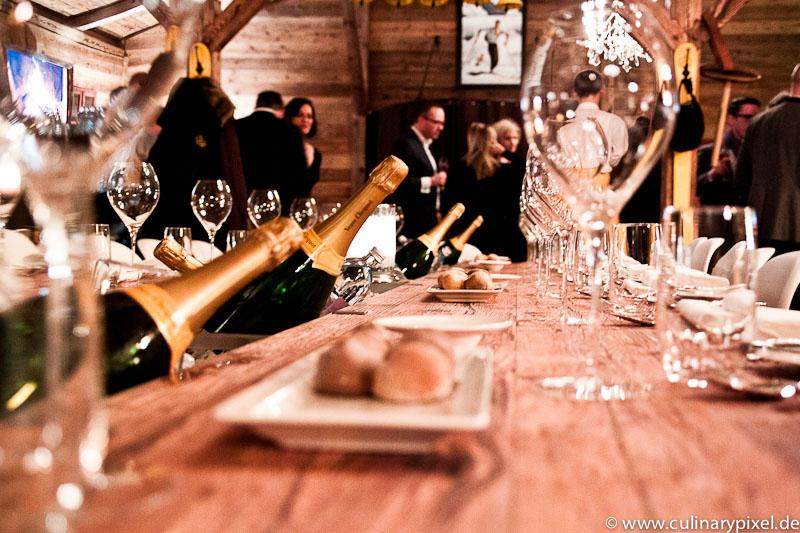 Vintage Dinner Veuve Clicquot