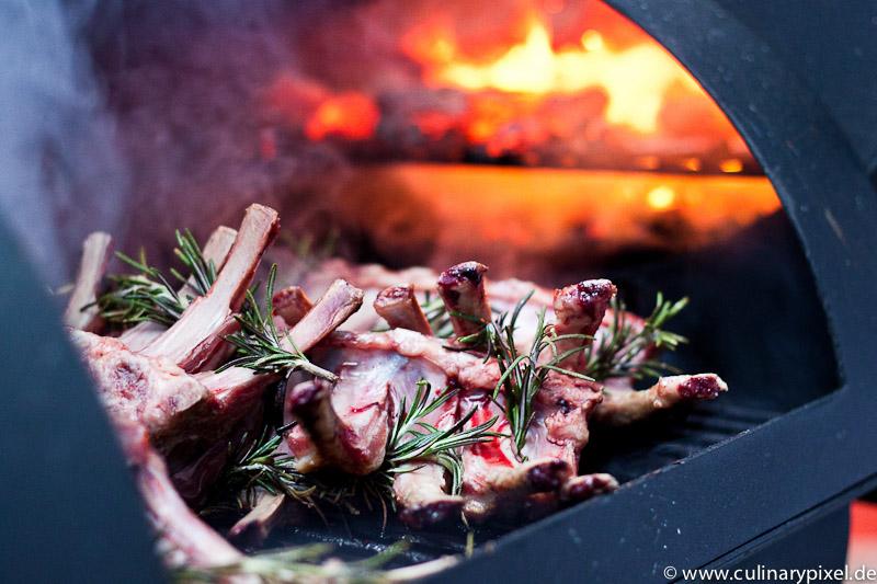 Neuseeland Lammkarree auf dem Grill