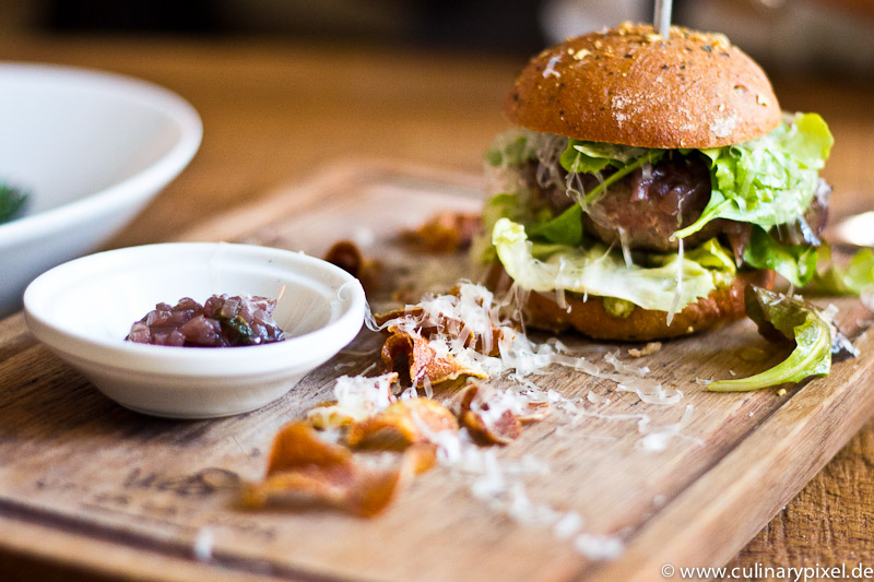 Beef Burger Upper Eat Side