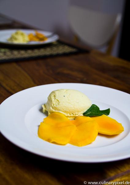 Mangoeis mit Thaimango