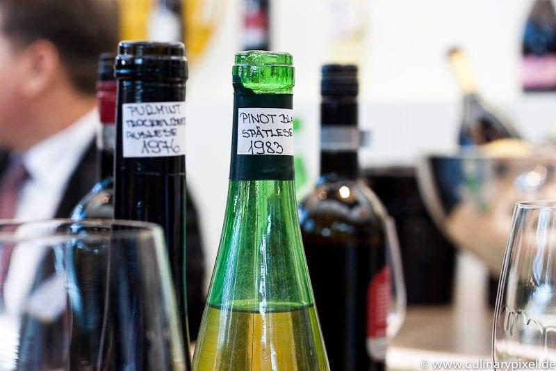 Puklavec & friends Archivweine ProWein Pinot Blanc Spätlese 1983
