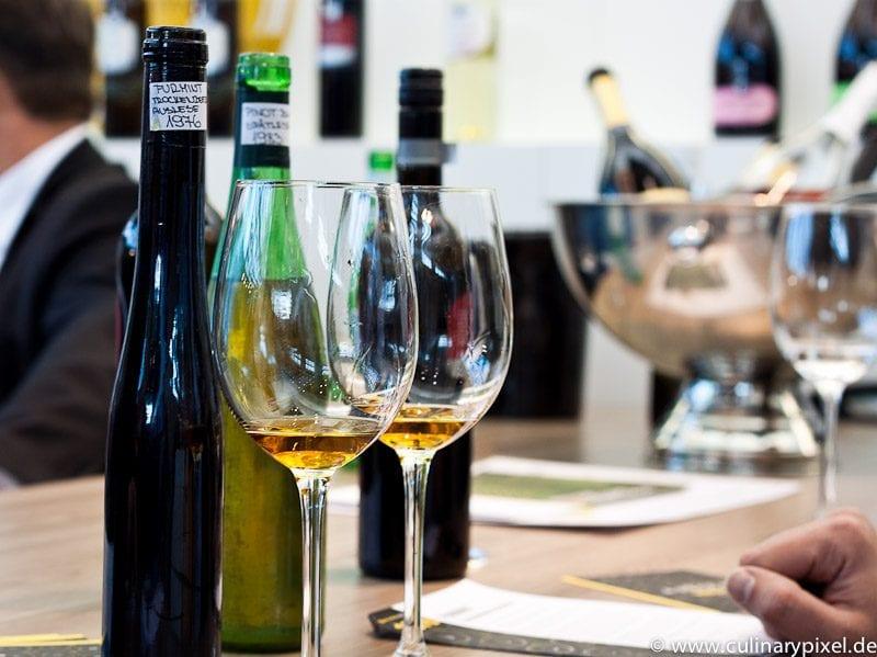Puklavec & friends Archivwein Tasting ProWein Pinot Blanc & Furmint