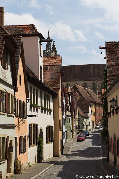 Rothenburg ob der Tauber - Straße