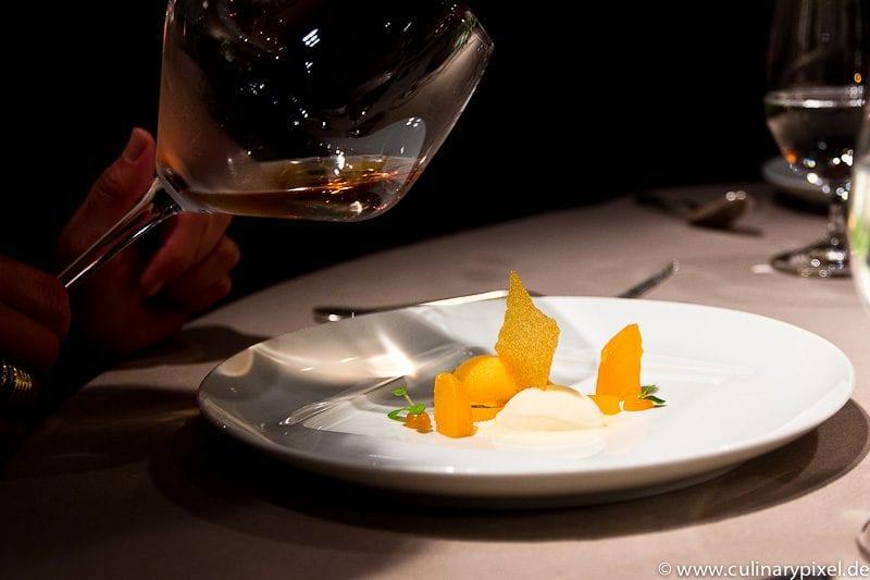 Predessert & Dom Perignon Champagner Atelier Bayerischer Hof