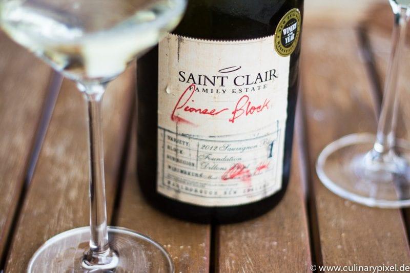 Saint Clair Pioneer Block Sauvignon Blanc 2012 Marlborough Neuseeland
