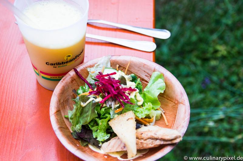 Salat & Rumpunsch vom Sandwichmaker