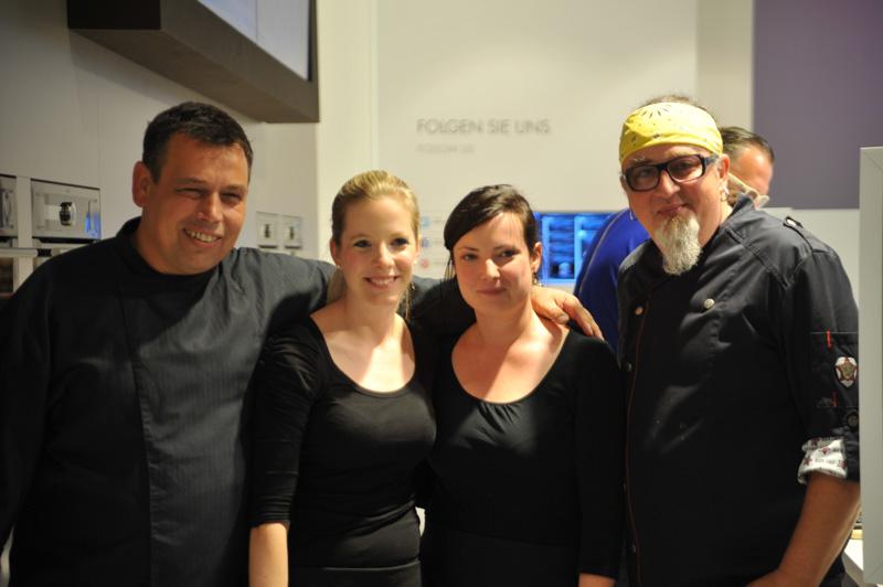 Christian Mittermeier, Amelie, Annette & Stefan Marquard (v.l.)