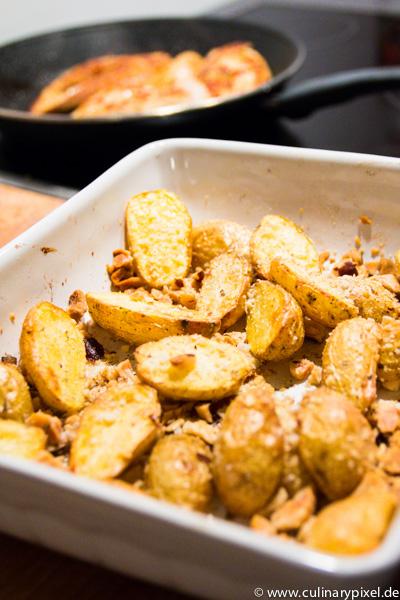 Paranuss Kartoffeln