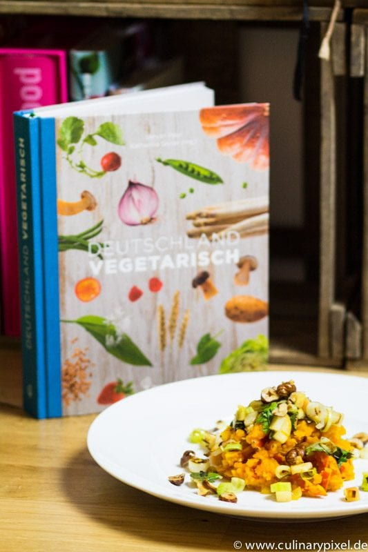 Deutschland vegetarisch & Kürbisstampf aus dem Buch