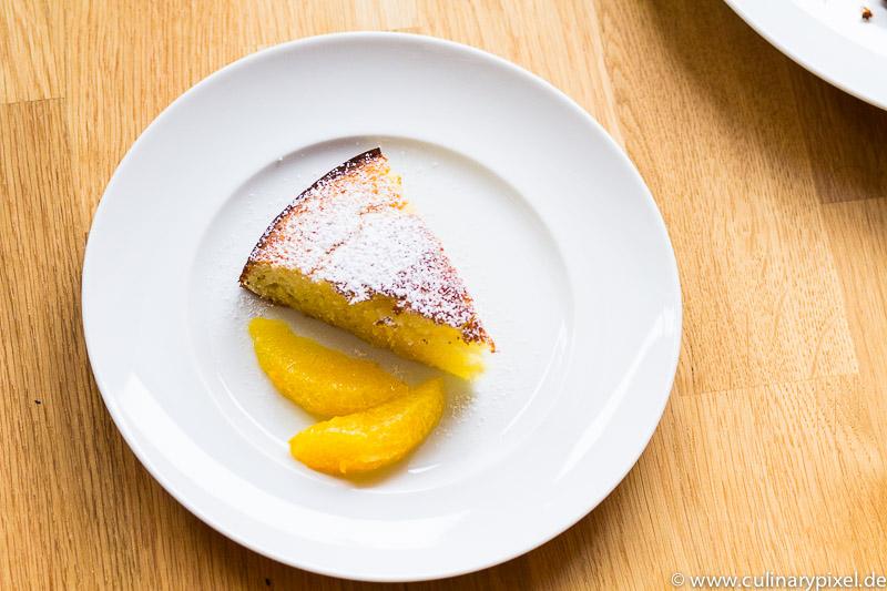 Martha Stewart Orangen-Joghurt-Kuchen mit Orangenfilets