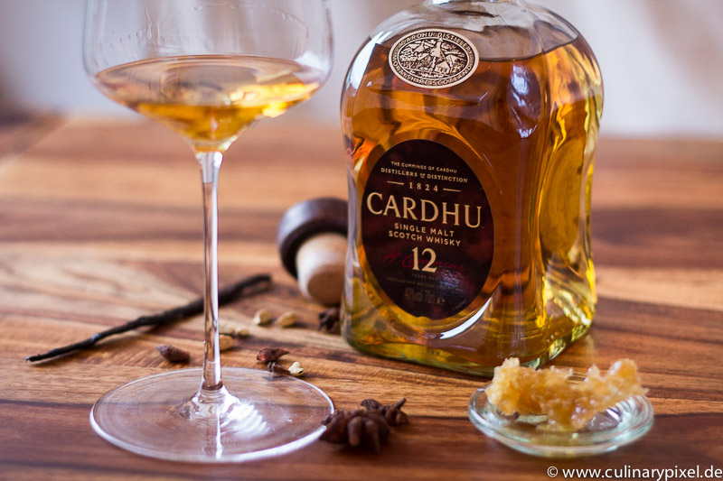 Cardhu 12 years single malt scotch whiskey