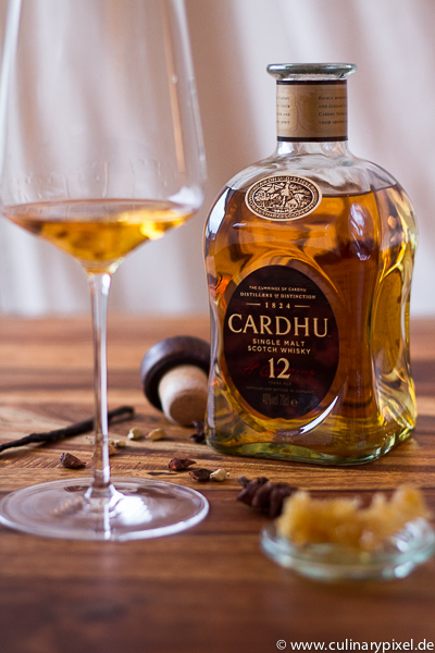 Cardhu 12 years single malt scotch whisky