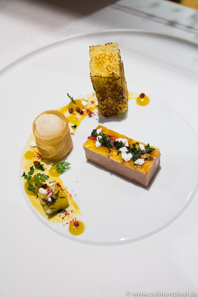 Fois gras, Ananas, Thymian