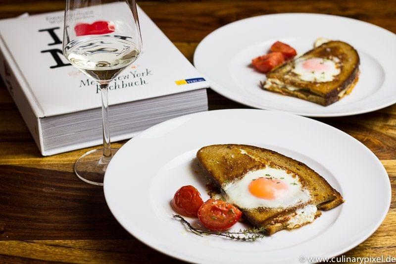 Schinken-Ei-Sandwiches aus I love New York von Daniel Humm