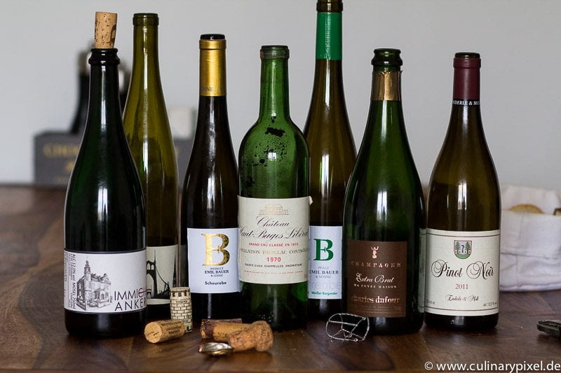 Weinbegleitung Menü