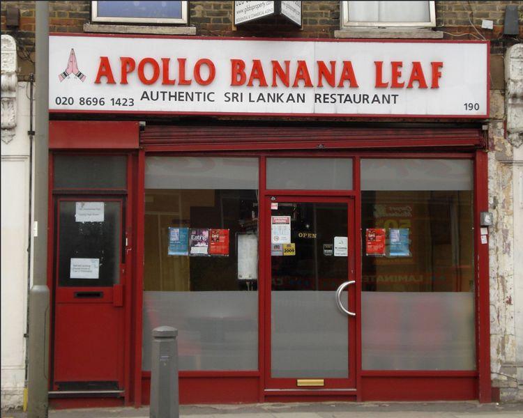 Apollo Banana Leaf  Tooting High Street  London SW17