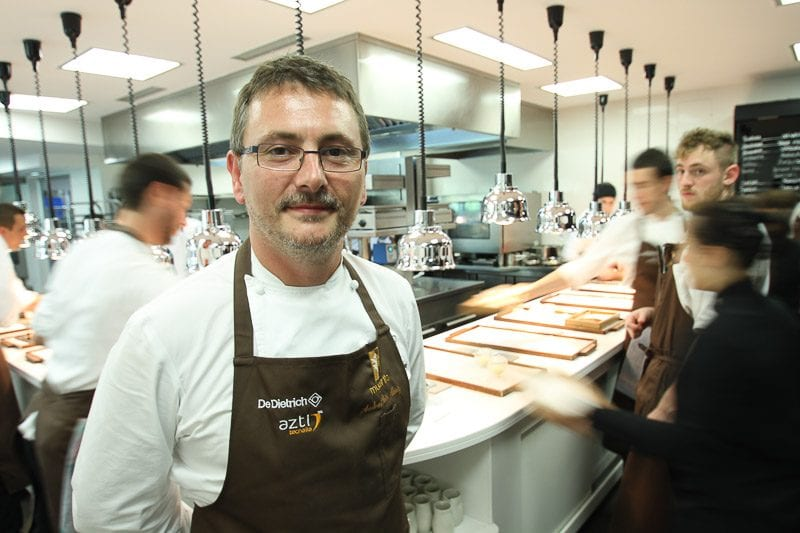 Andoni Luis Aduriz in Worlds Best Chefs - foto credit: Fox International Channels