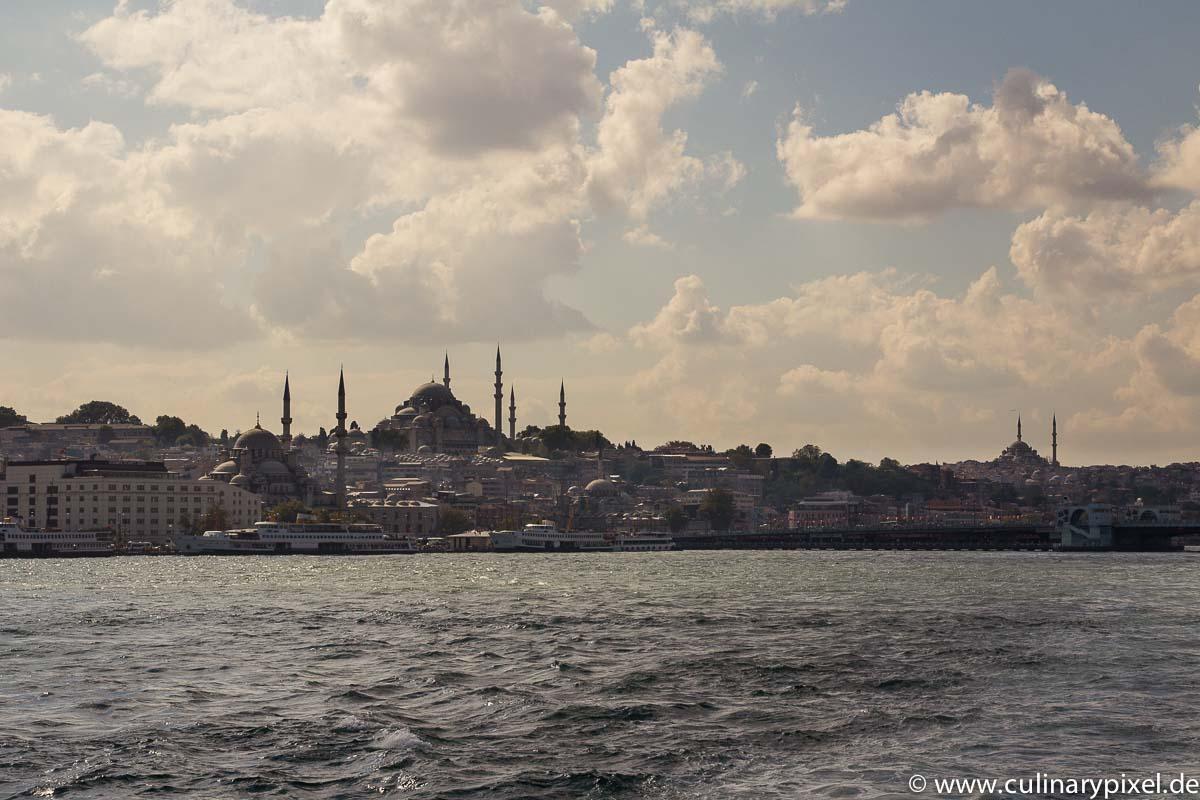 Istanbul - Blick von der Fähre