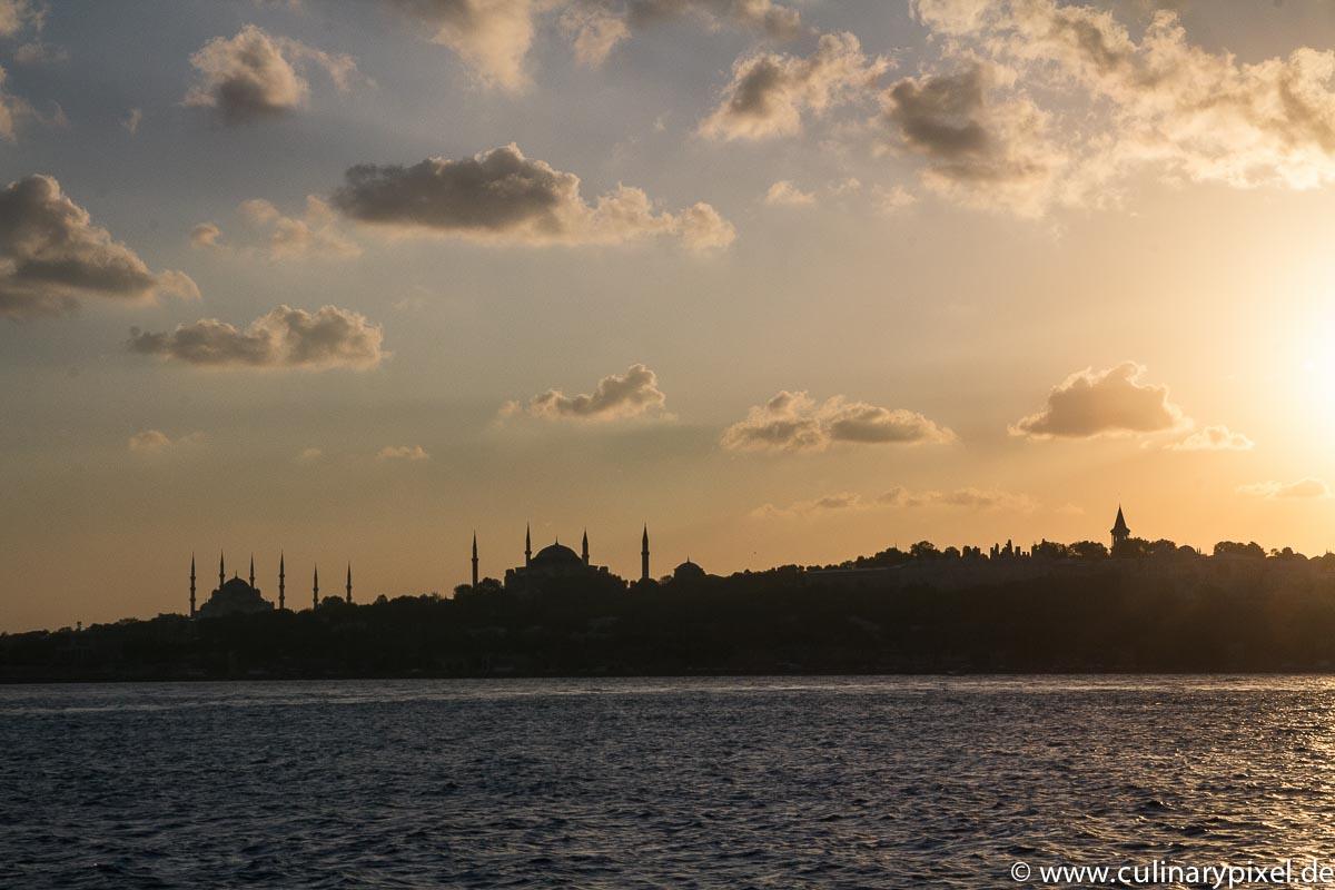 Istanbul, Blick von der Fähre