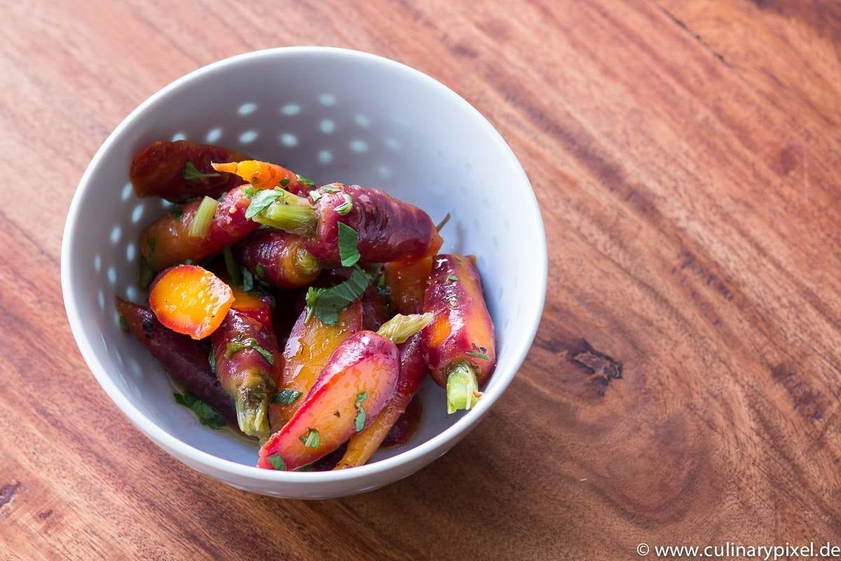Karottensalat Italien vegetarisch