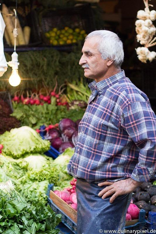 Markt in Kadıkoey, Istanbul