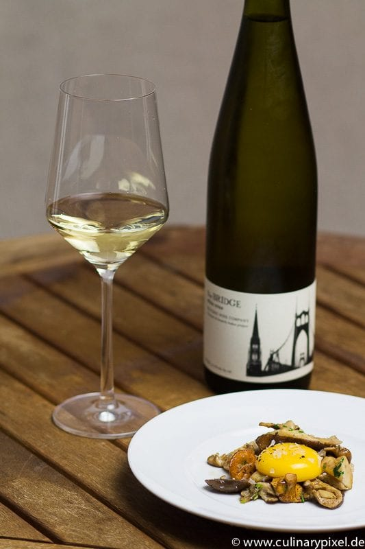 the bridge Riesling Teutonic Wine Company & Immich-Anker Onsen-Eigelb