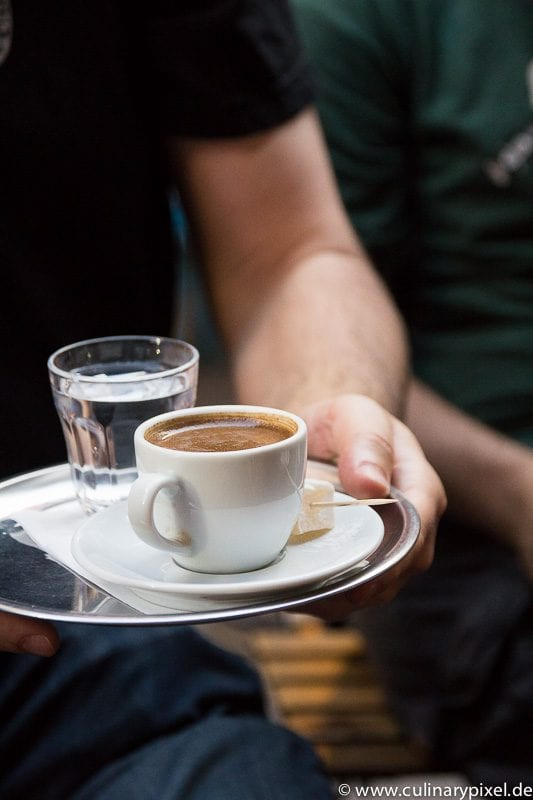 Turkischer Kaffee bei Fazil Bey's Turkish Coffee