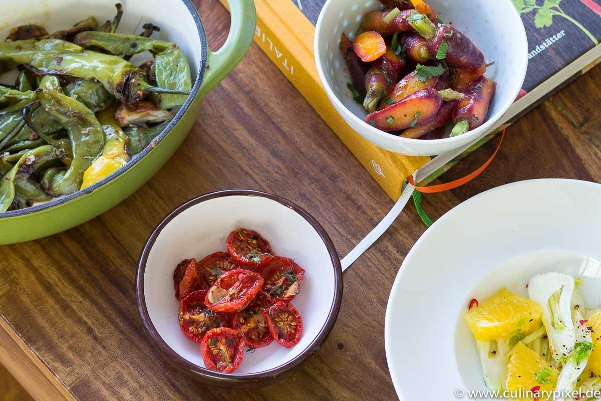 Vorspeisen aus Italien vegetarisch