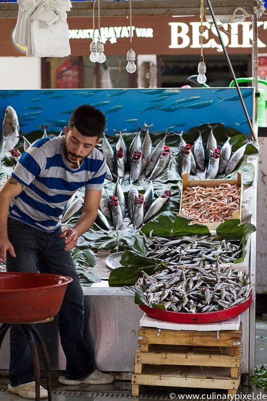 Fischmarkt Besiktas, Istanbul