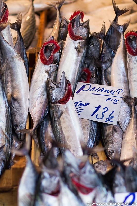 Fischmarkt in Besiktas, Istanbul