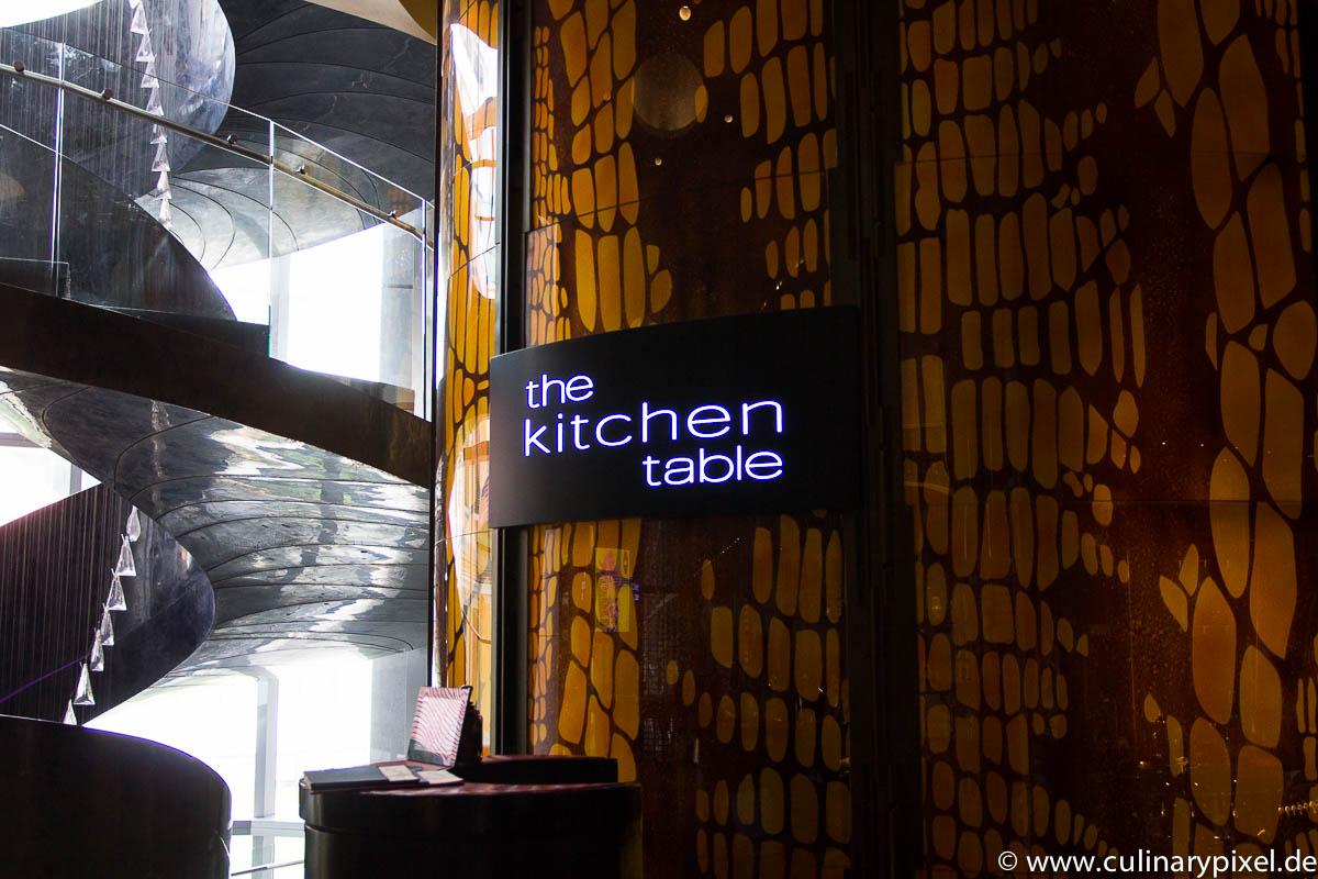 W Hotel Bangkok Restaurant Kitchen Table