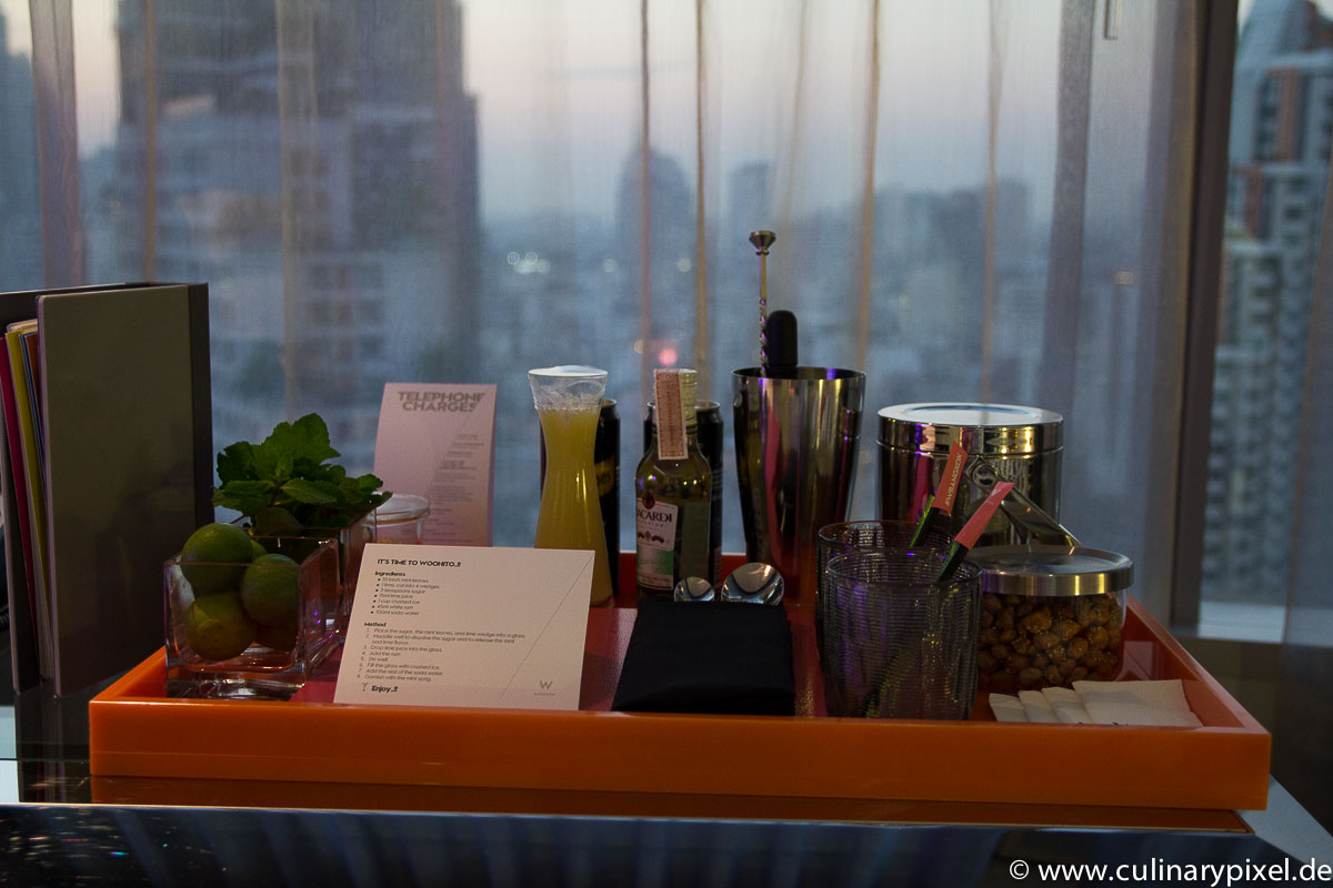 Mojitos W Hotel Bangkok