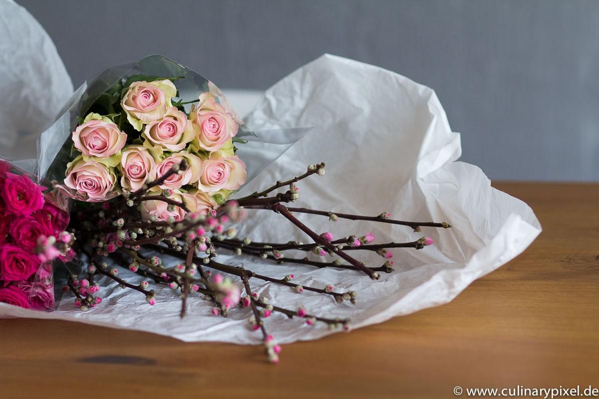 Frohe Ostern - Blumen
