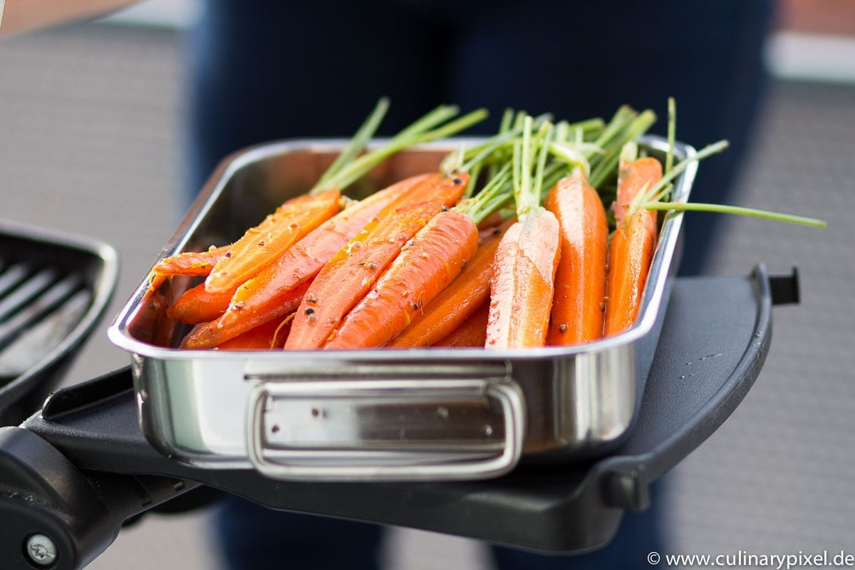 Ostermenü: Karotten vomGrill