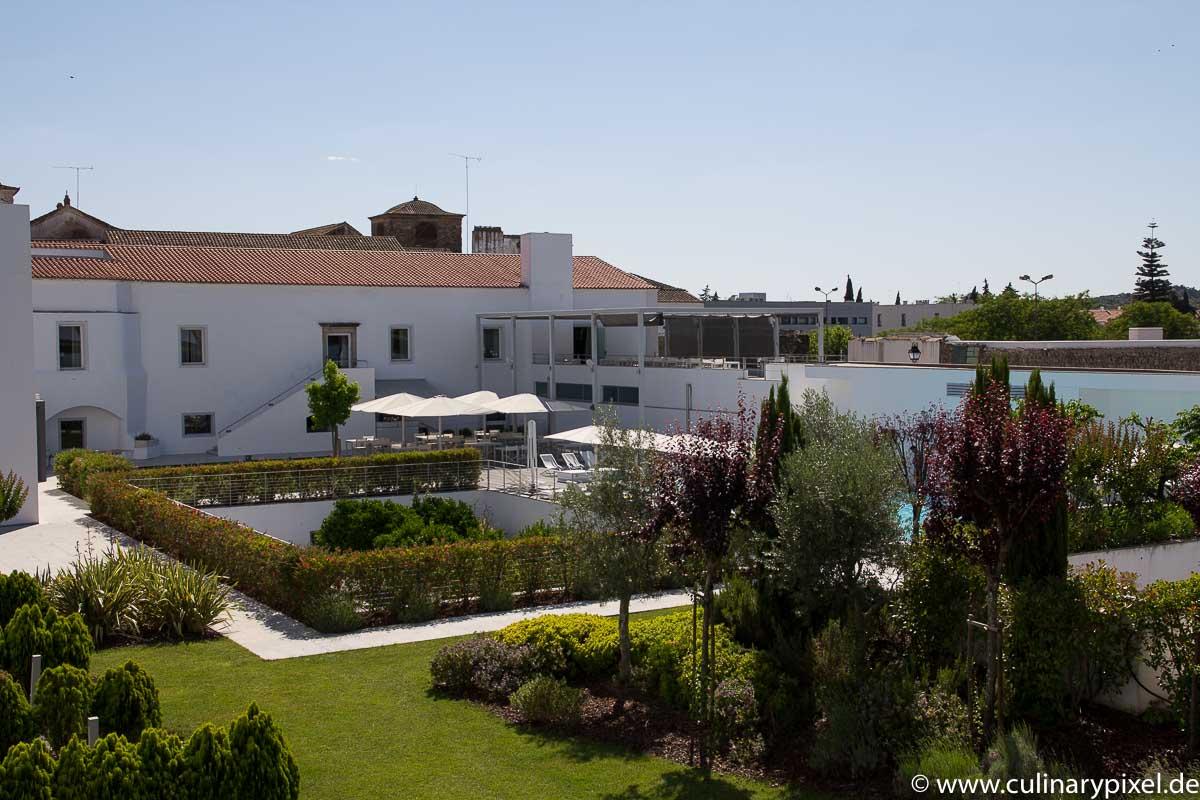 M'ar de Ar Hotel Évora - Garten