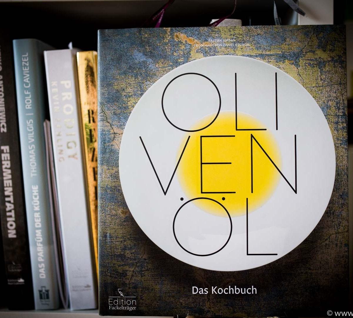 Olivenöl Kochbuch Bastian Jordan