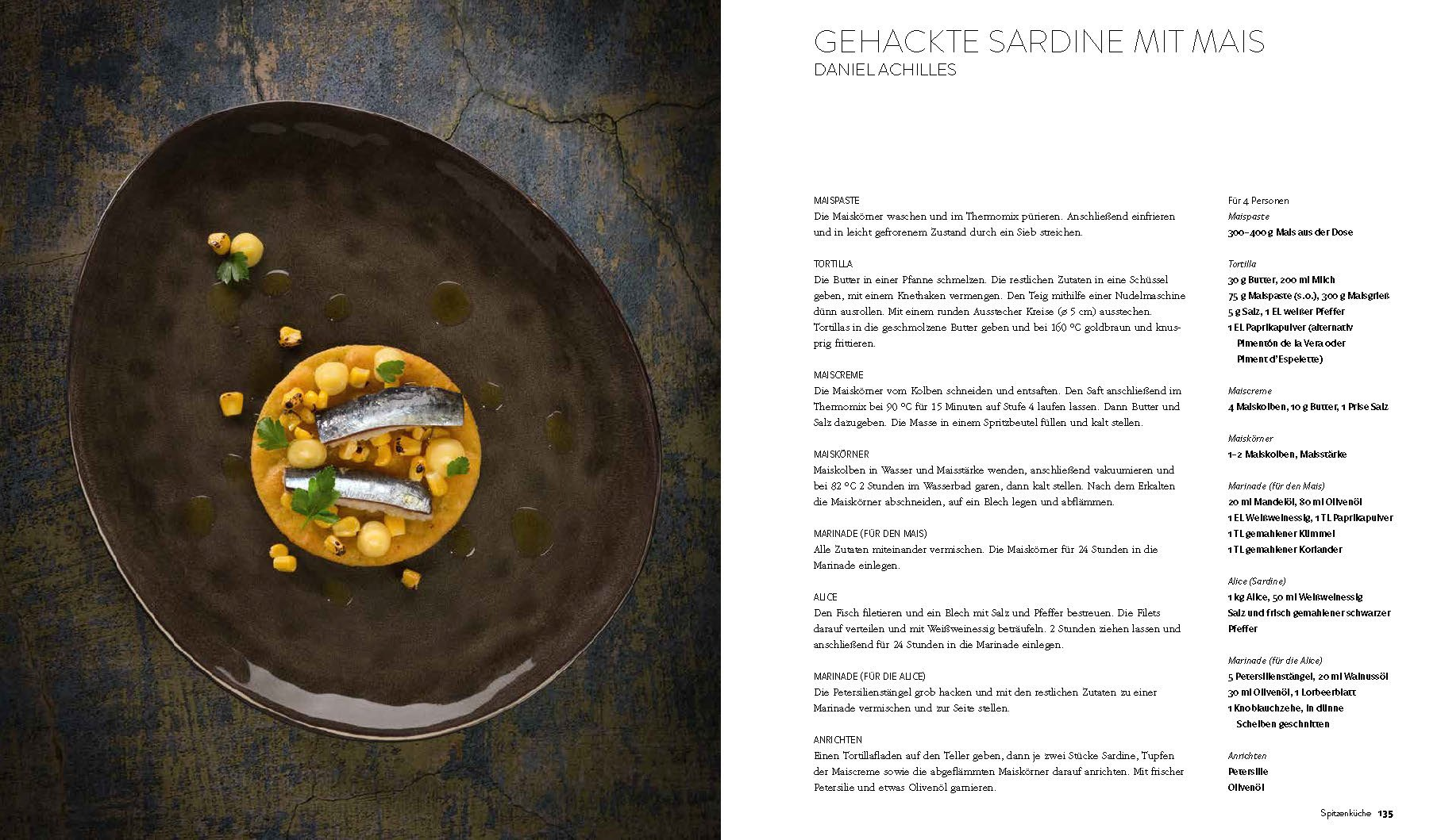 Olivenöl Kochbuch Bastian Jordan Sardine