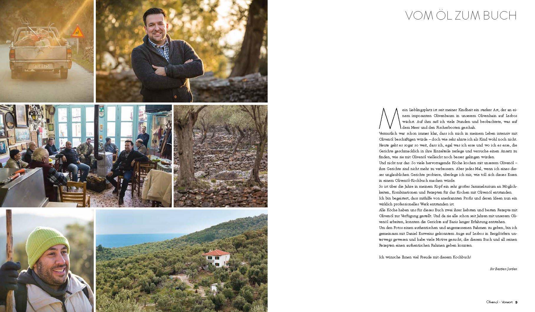 Olivenöl Kochbuch Bastian Jordan Story