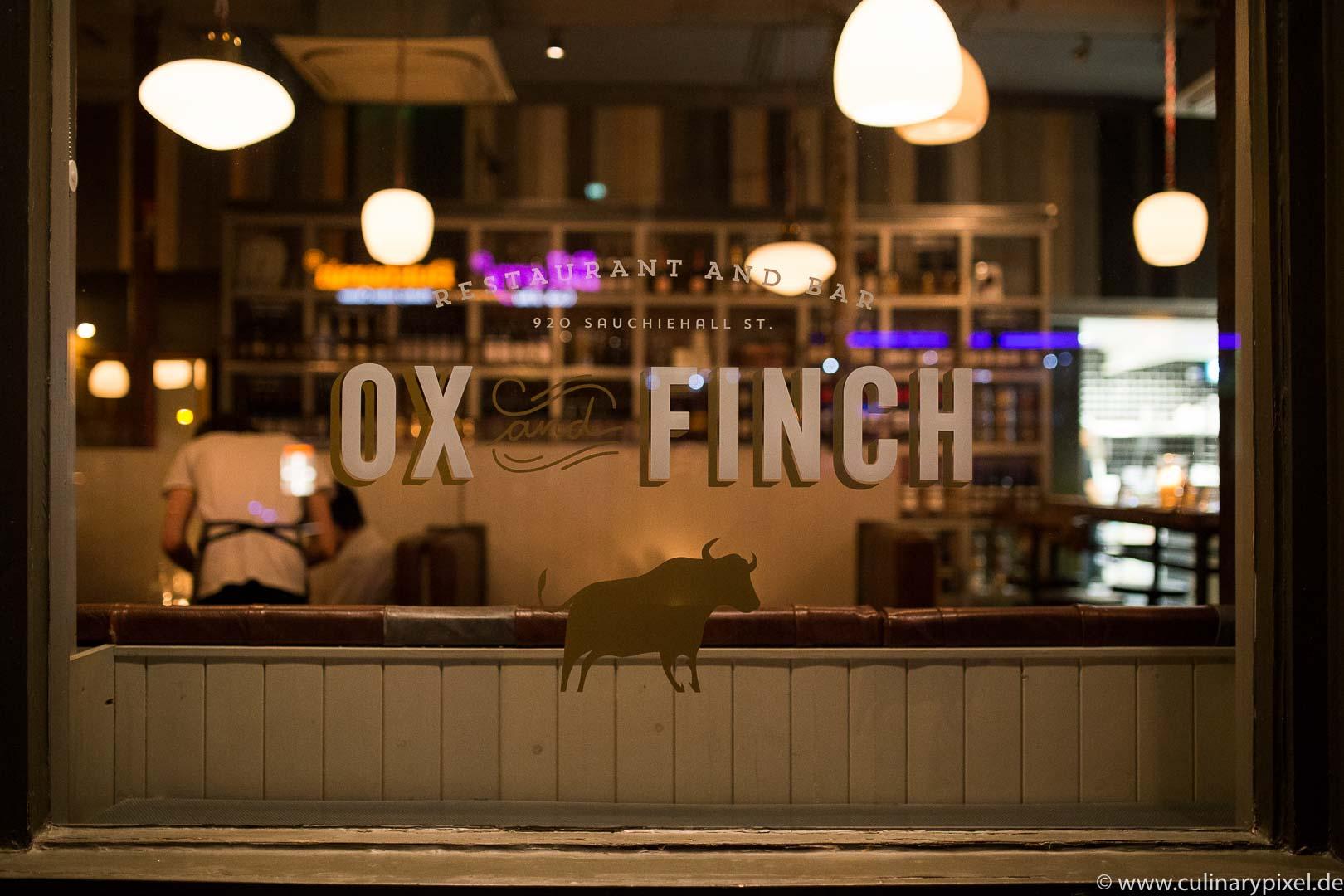 Glasgow Ox & Finch